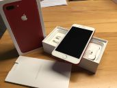 BUY APPLE IPHONE 7/7 PLUS (PROD)RED 128GB IN BOX 24MONTHS WARRANTY объявление