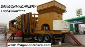 Portable crushing and screening plant dragon crusher for sale объявление