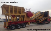 Mobile Primary Crushing And Screening Plant,Dragon 9000 объявление